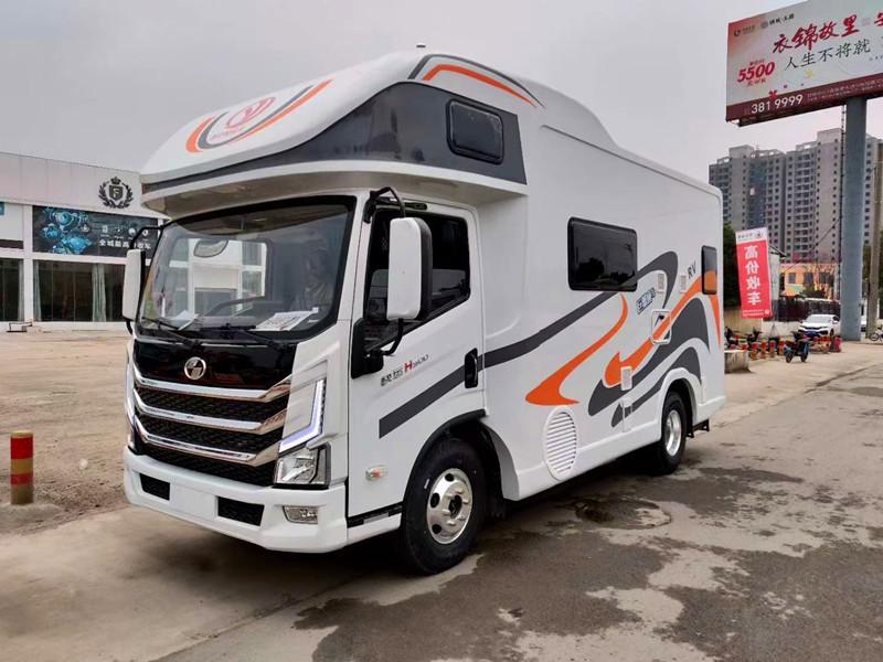 上汽跃进轻卡房车-跃进H500冰淇淋房车-底盘稳空间大!