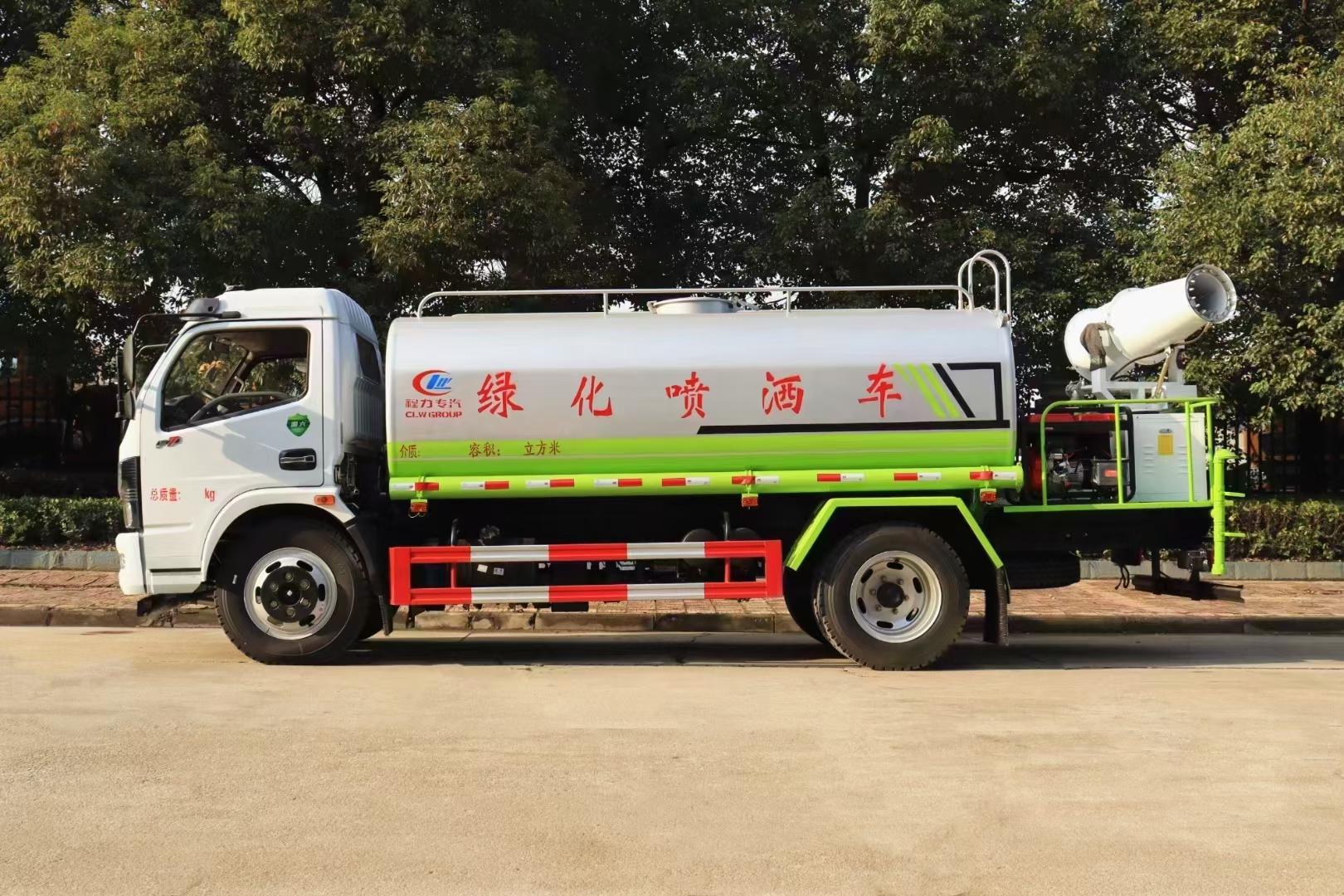 东风洒水车抑尘车免交购置税30米雾炮车150马力水车厂家价格图片
