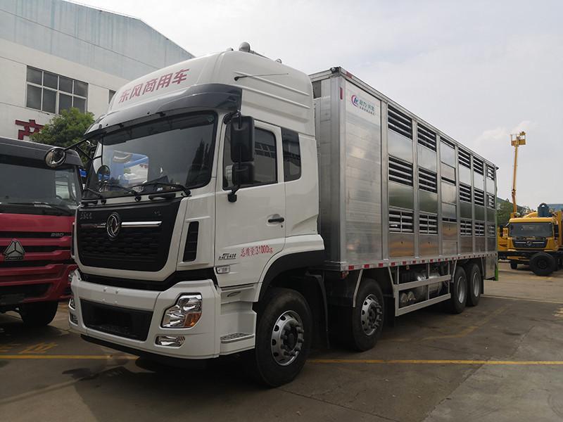 9.6米东风天龙畜禽运输车牛年看得见的优惠