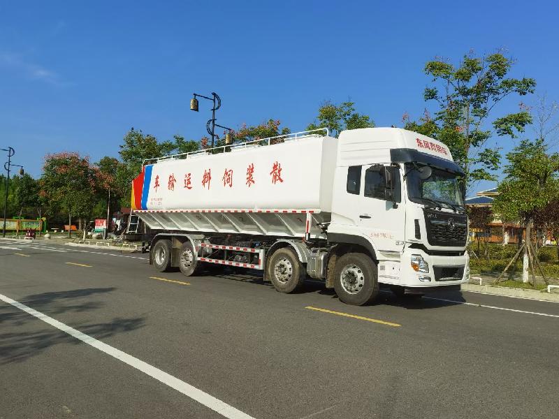10-30吨铝合金饲料车