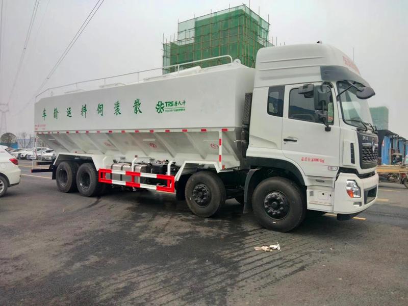 20吨散装饲料运输车厂家报价