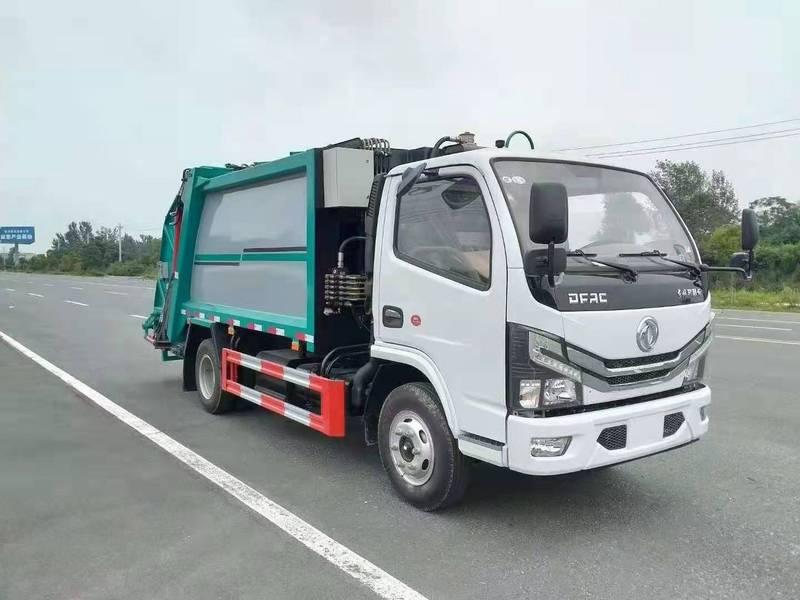 6方压缩垃圾车价格 国六压缩垃圾车多少钱一辆
