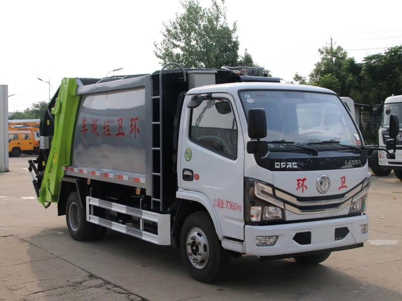 太原国六东风6方压缩垃圾车在哪里买 太原东风6方压缩垃圾车价格