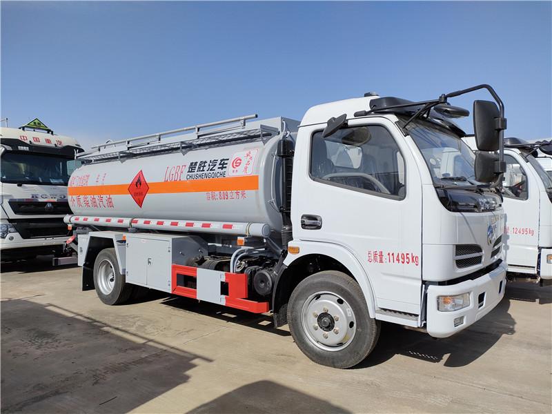 东风8吨运油车 玉柴150马力 福瑞卡8.09方油罐车手续齐全 回家就赚钱