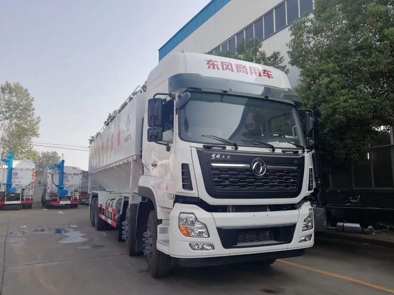东风20吨散装饲料车多少钱价格报价-散装饲料车厂家促销