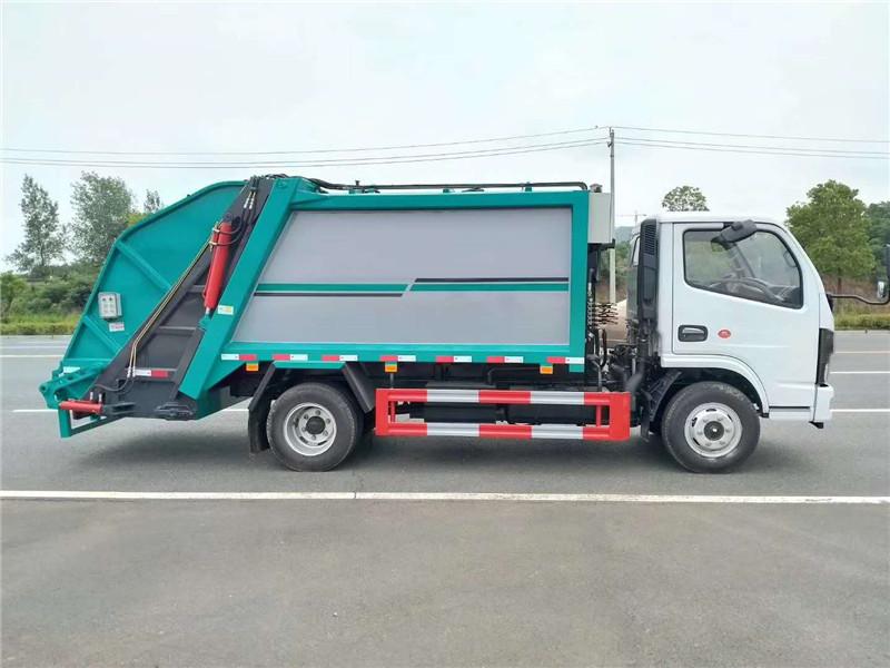 6方压缩垃圾车专业制造厂家 压缩式垃圾车的详细介绍