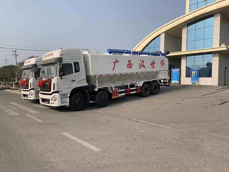 20吨散装饲料运输车价格详情厂家报价