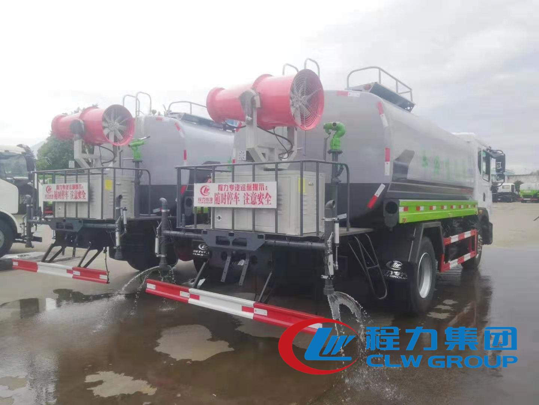 国六14吨东风D9喷药车