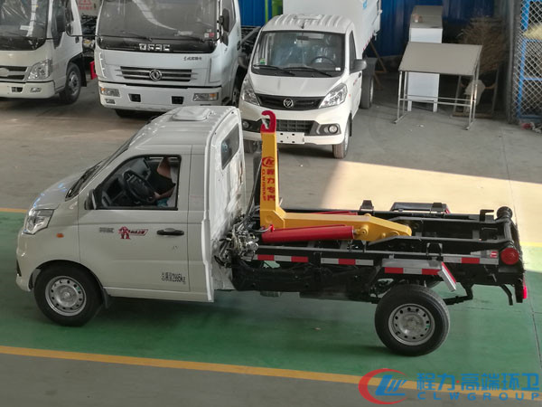 国六福田3方勾臂垃圾车厂家市场指导价8.6万图片