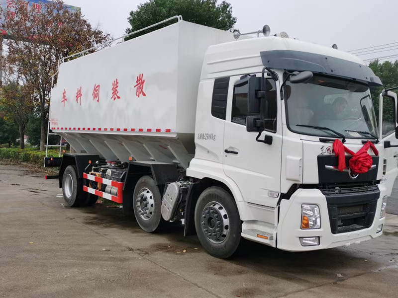 东风天锦铝合金运猪车厂家图片视频