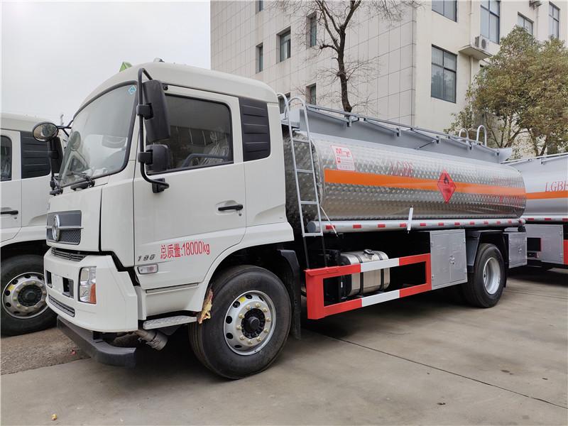 东风天锦乙醇12.2方易燃液体罐式运输车12吨甲醇运输车视频