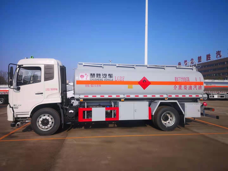 天锦10吨油罐车现车促销价图片