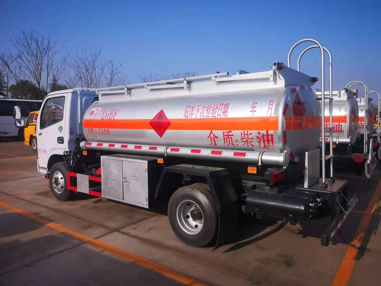 东风福瑞卡4吨油罐车厂家定制图片