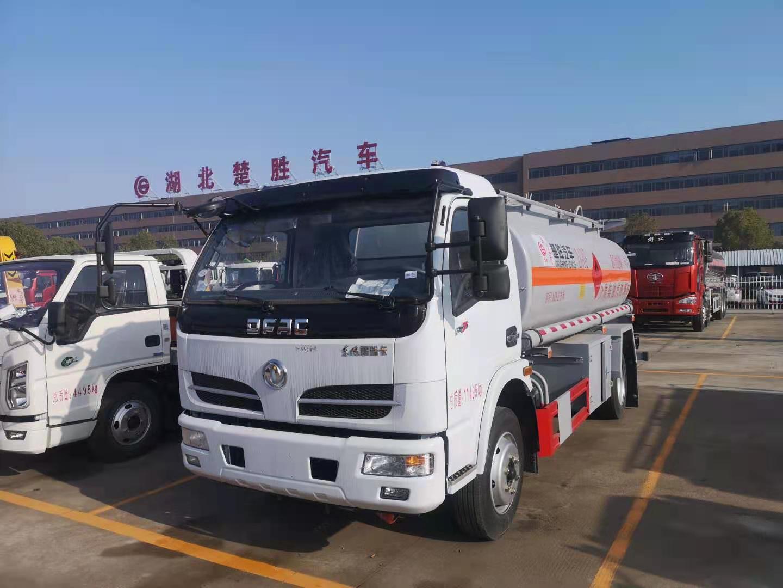 东风大福瑞卡8吨油罐车配置及图片厂家批发价图片