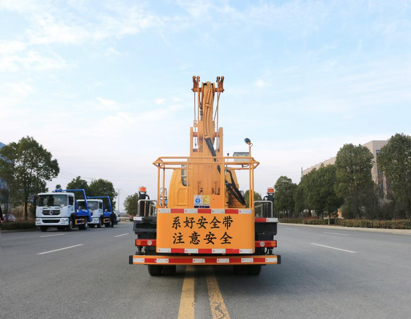 国六凯马蓝牌13.5米高空作业车厂家直销报价图片