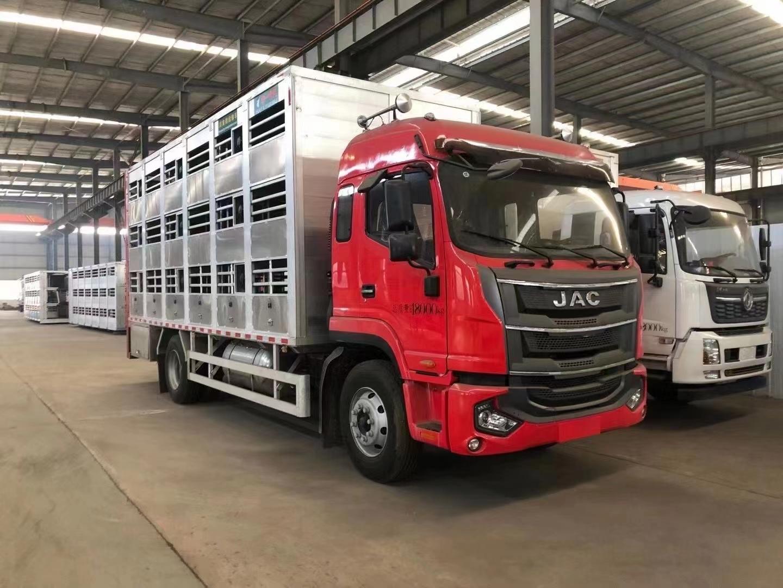 国六饲料车畜禽运输车图片图片