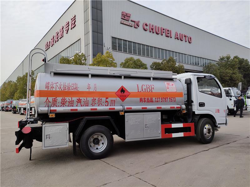 东风5吨油灌车厂家批发 玉柴115马力 移动5吨加油车参数