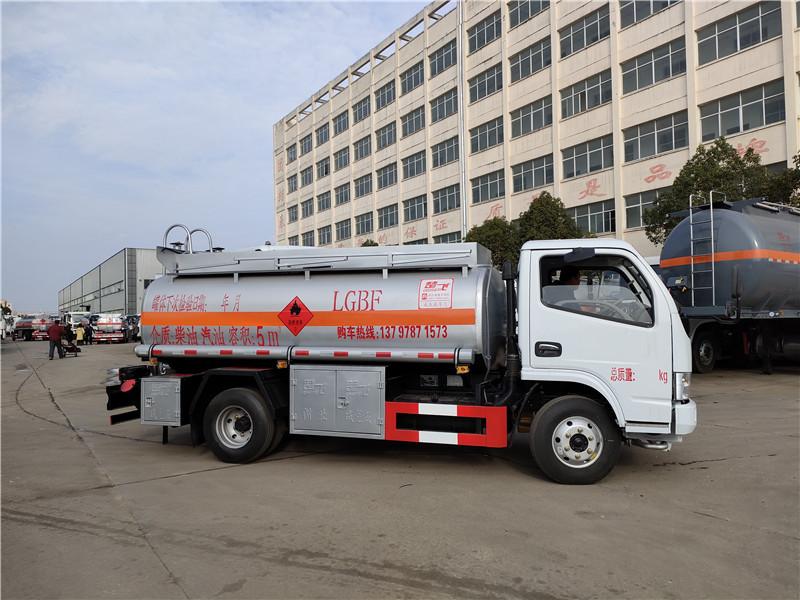油罐车厂家现车直销 东风5吨油灌车玉柴115马力全国包上户 可分期
