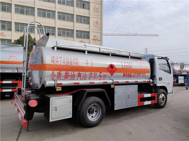 国五东风5吨流动加油车 楚飞牌CLQ5070GYY5型运油车 上户分期一条龙服务