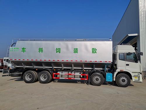 白银市国六20吨饲料车
