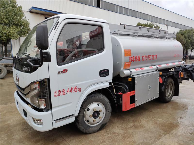 蓝牌油罐车现车  洗井液 C1可开 能装4吨柴油供液车包上户视频