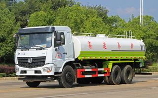 国六东风D3L新款20吨洒水车图片