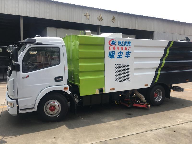 郑州市登封市水泥厂定购一台东风国五吸尘车,吸尘实力派 当然吸尘车,为水泥厂量身定制的吸尘车