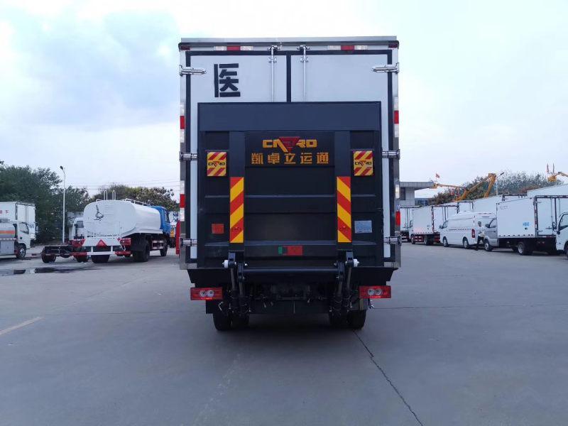 国六福田奥铃4米医疗废物转运车图片