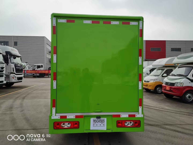 国六开瑞售货车图片
