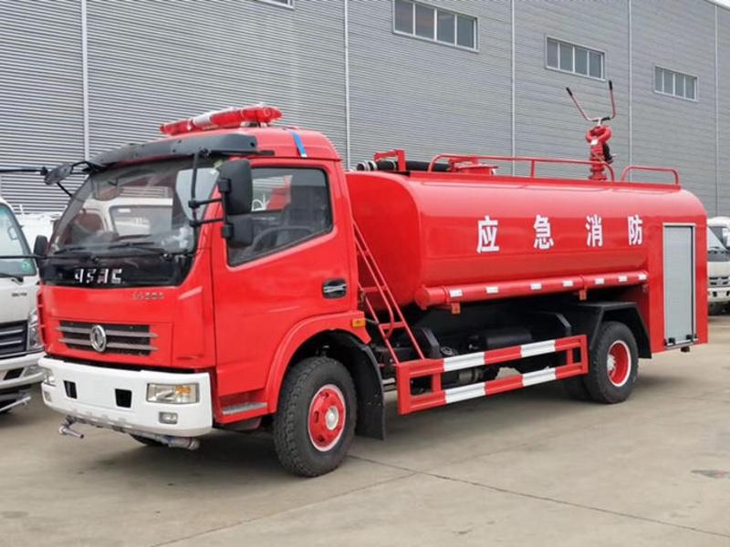 程力消防洒水车-8吨消防洒水车专用配置价格