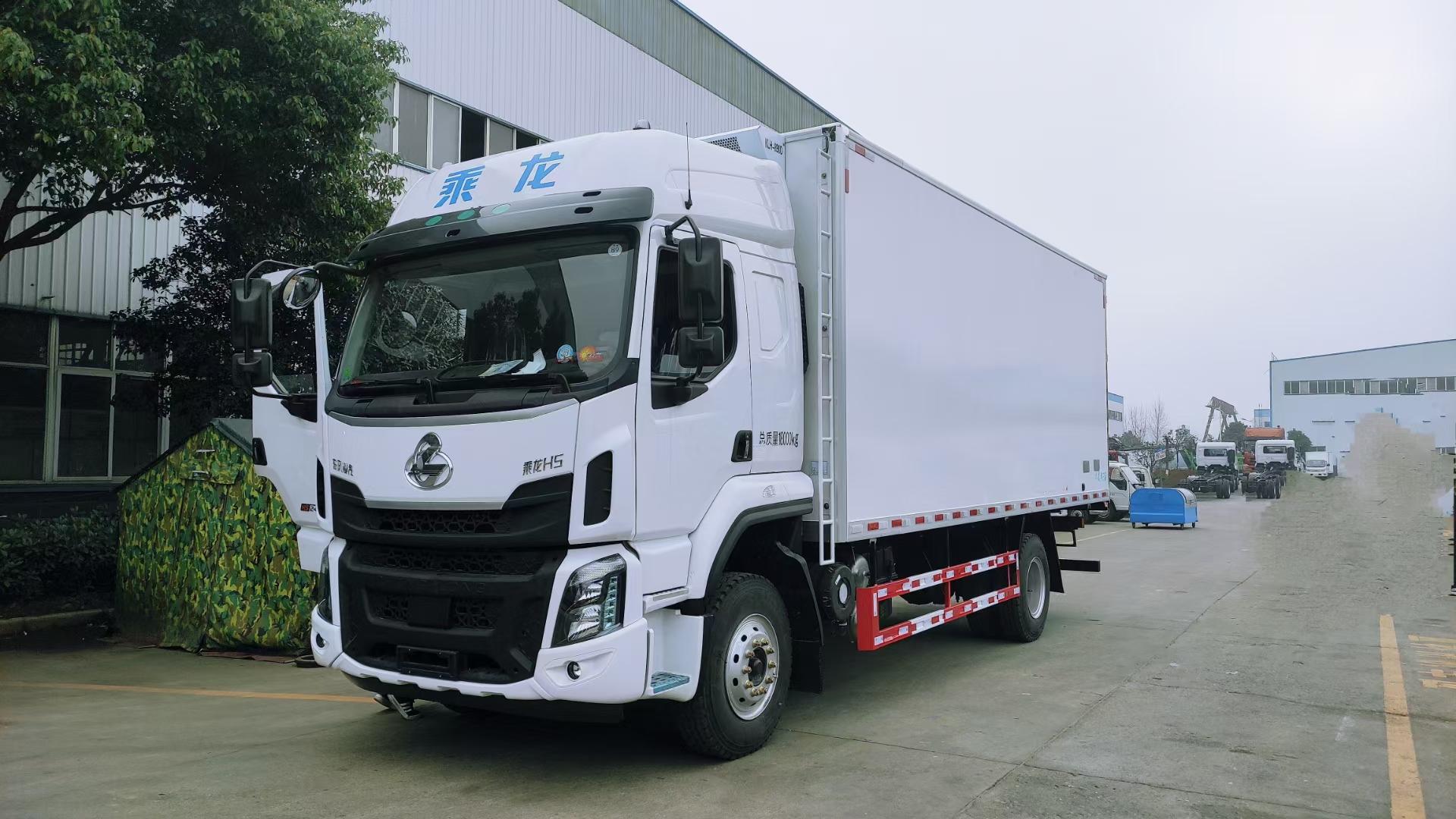 国六柳汽乘龙H5冷链运输车图片