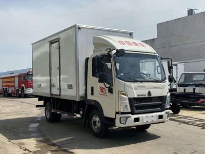 国六重汽豪沃4.2冷藏车图片