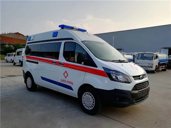 福特V362救护车哪里有卖视频