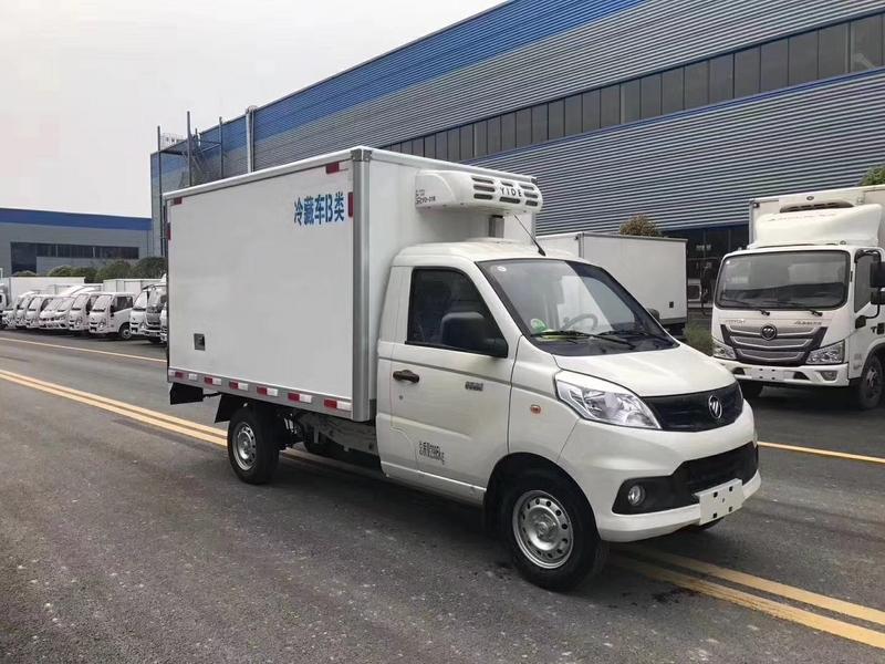 国六冷藏车福田祥菱冷链冷鲜车又出了个M2,跟V1有啥不一样