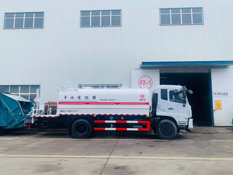 國六15噸東風D17灑水車廠家直銷價格報價圖片