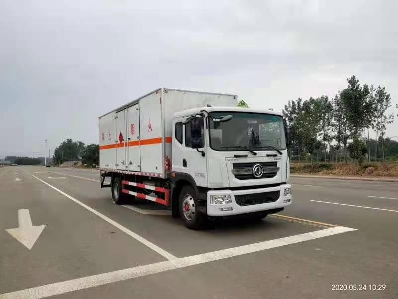 东风多利卡D9国六6.6米爆破器材运输车图片