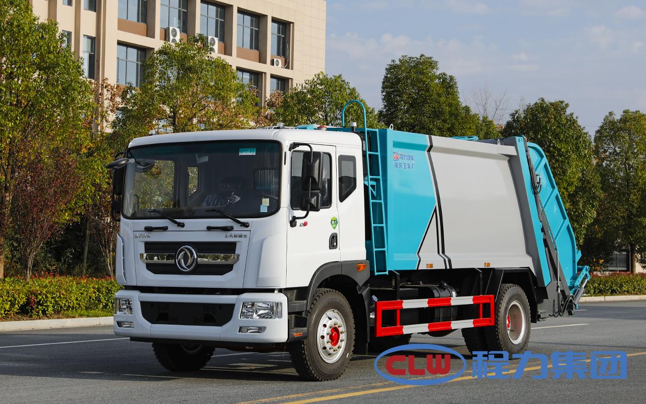 国六东风D9(10方)压缩式垃圾车