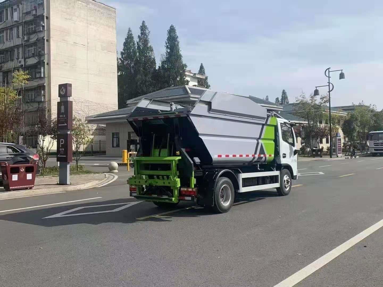 大鑫自卸式垃圾车视频