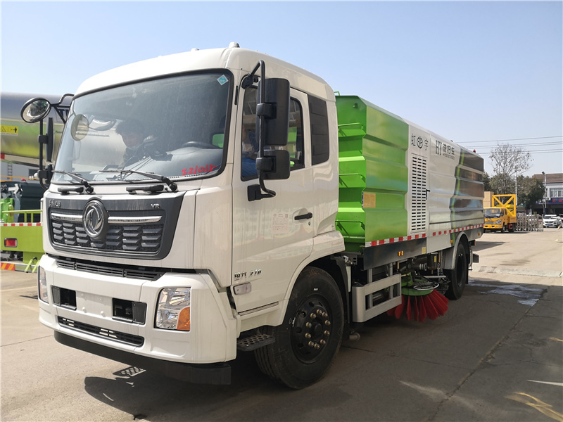 大排档路面克星北京10吨洒水车道路洗扫车