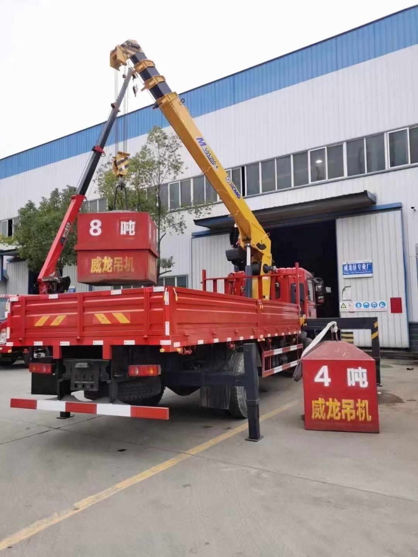 東風T5玉柴200馬力配徐工8噸吊機圖片