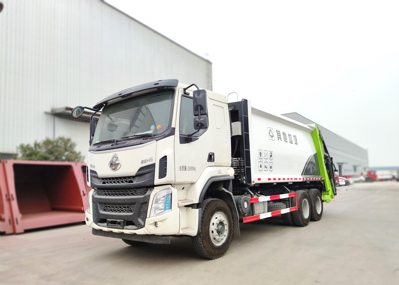 6X4压缩垃圾车视频