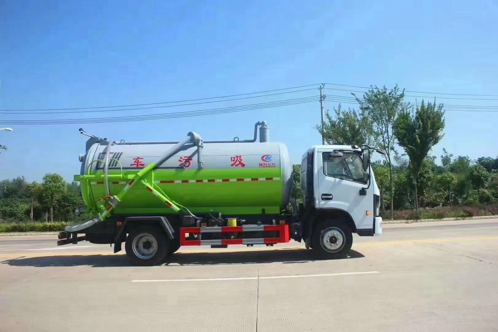 东风D7大多利卡8吨9吨吸污车图片