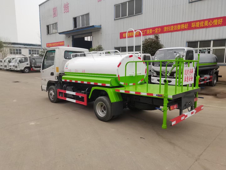 國六凱馬藍牌2噸灑水車廠家直銷價格報價圖片圖片