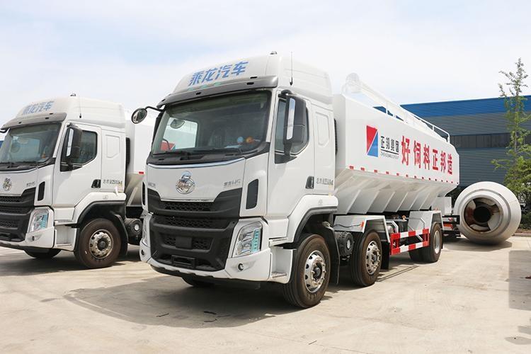 国六柳汽18吨散装饲料车厂家直销图片