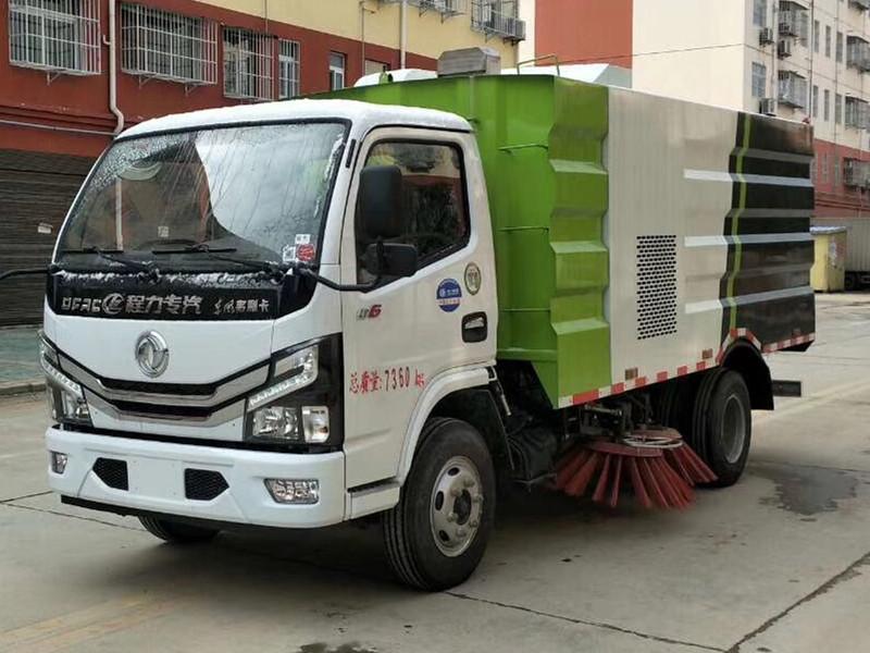 厂家直供国六东风多利卡多功能洗扫车图片