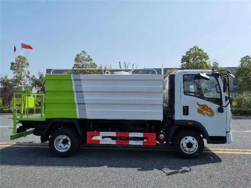 国六重汽豪曼抑尘车-免征购置税-容积7立方米