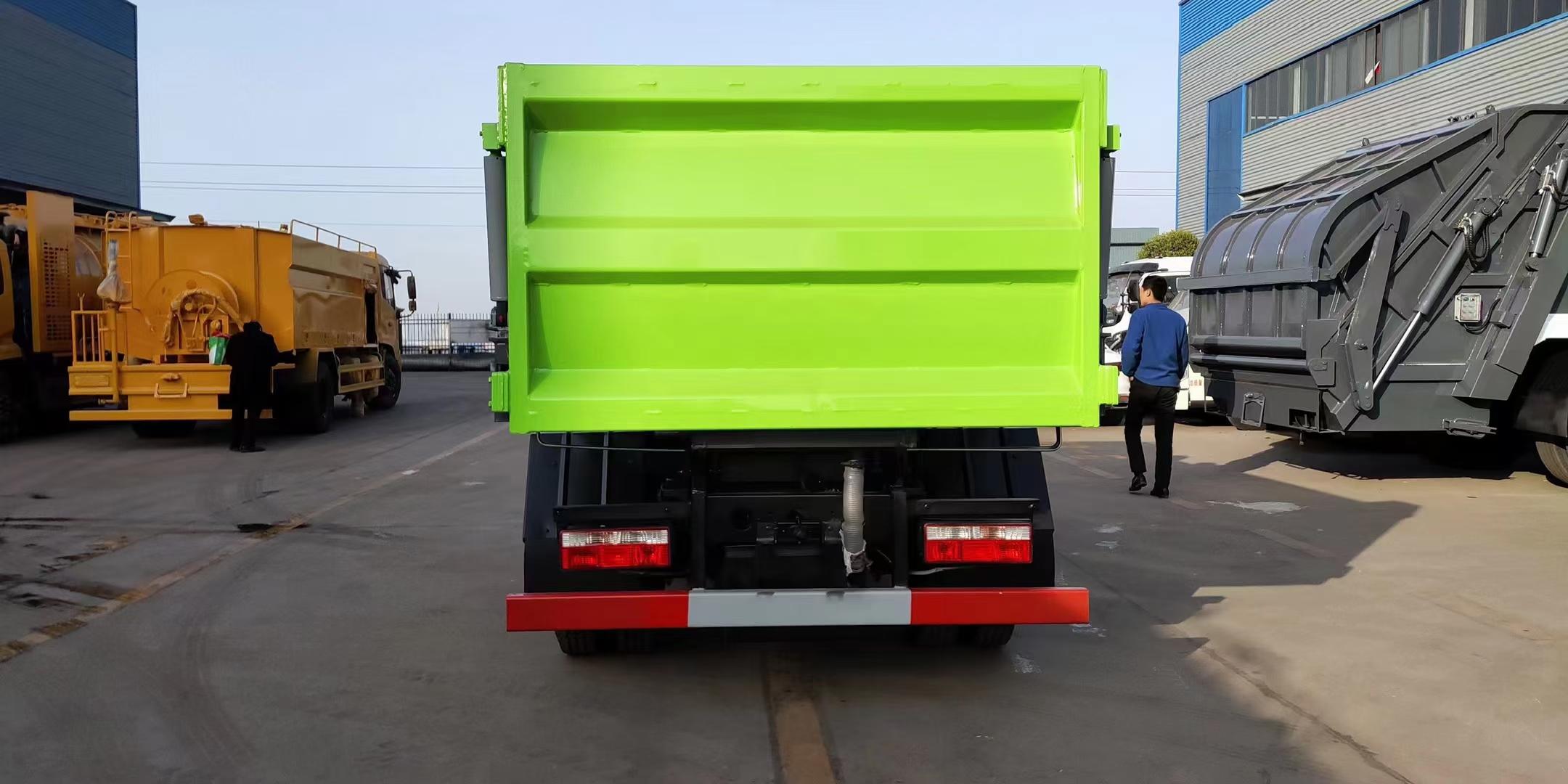 国六5方东风小多利卡自装卸垃圾车图片