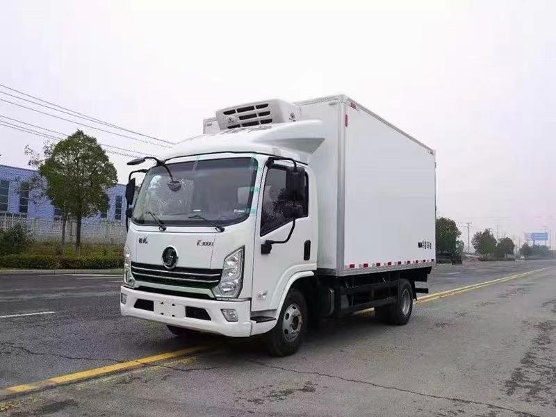 國六陜汽德龍130馬力冷藏車圖片
