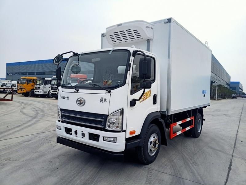 藍牌4米2解放虎VH冷藏車冷鏈車廠家圖片