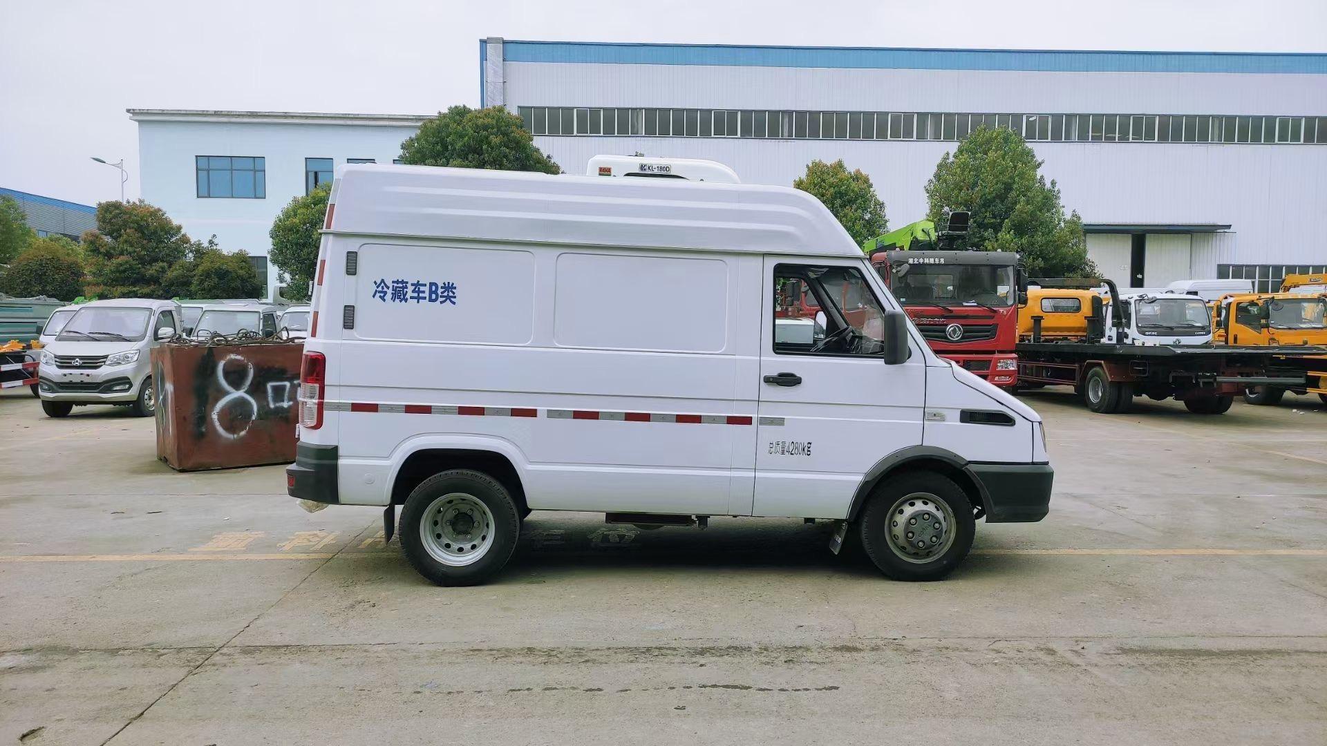 国六南京依维柯面包冷藏车(短轴版)